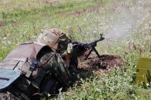 За прошедшие сутки в зоне АТО боевики 78 раз открывали огонь по украинским позициям - штаб