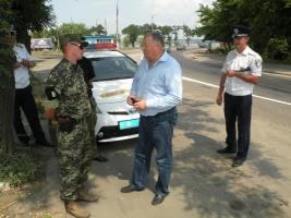 Советник Авакова проверял в Николаеве движение грузовиков
