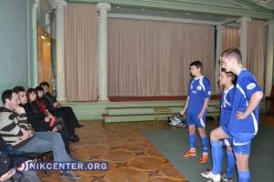 В Херсоне прошел театрально-футбольный перфроманс