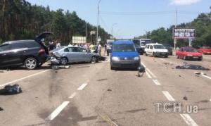 В Конче-Заспе внук генерала армии Радченко сбил насмерть водителя скутера