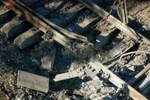 В Харьковской области на железной дороге произошел взрыв