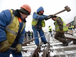 Россия начала строить железную дорогу в обход Украины