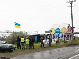 Сегодня в Одесской области жители слышали выстрелы возле блокпоста