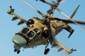 На границе Херсонской области появились российские разведывательные вертолеты