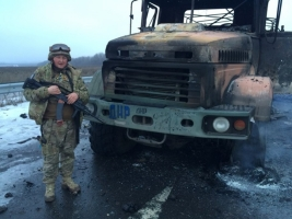 Обстрелы вблизи Донецкого аэропорта не утихают