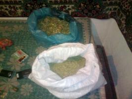 У жителя Одесской области отобрали мешок с марихуаной