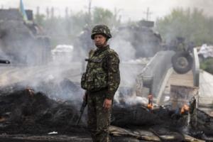 В течение суток пророссийские боевики более 20 раз обстреляли блокпосты Вооруженных Сил Украины (карта)