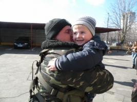 Николаевские сотрудники ГАИ вернулись с востока Украины