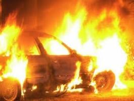 В Одесской области горели три автомобиля