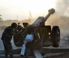 В течение ночи наблюдалось уменьшение количества обстрелов позиций сил АТО - штаб