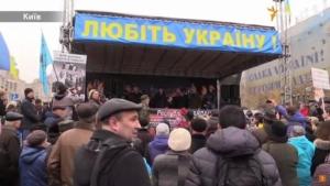На Майдане проходит народное вече - прямая трансляция