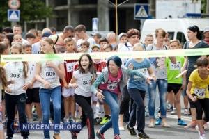 Николаевцы устроили массовый забег к Олимпийскому дню