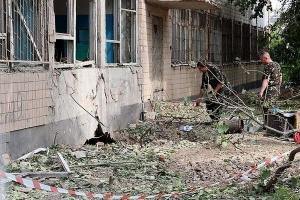 В Одессе взорван военкомат