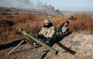 За сутки в зоне АТО зафиксировано 35 обстрелов со стороны боевиков