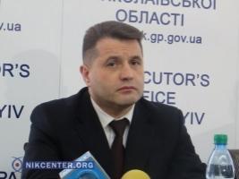 Прокурора Николаевской области Кривовяза повысили в звании