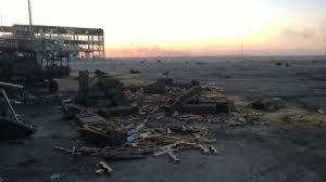 В Донецке взорвали старый терминал аэропорта