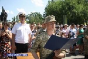 В Николаеве присягнуло на верность украинскому народу 600 молодых воинов