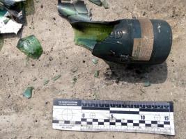 В Вознесенском районе неизвестные бросили несколько коктейлей Молотова во двор агрофирмы