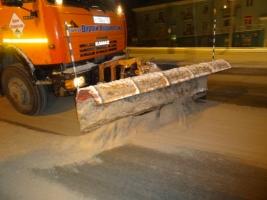 Николаев продолжают расчищать от снега