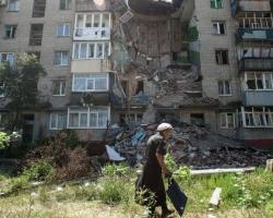 В Донецке взрывы слышны во всех районах города