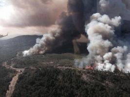 В Испании эвакуировали 1,6 тыс. человек из-за масштабных пожаров