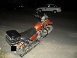 В Николаеве пьяный мужчина взял у коллеги мотоцикл «покататься»
