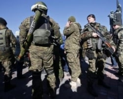 В Широкино идет бой между силами АТО и сепаратистами