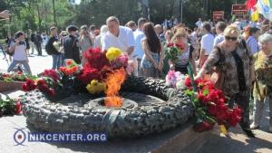 Одесситы отметили день окончания Второй мировой войны возложением цветов