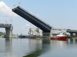Развод мостов в Николаеве перенесли на завтра