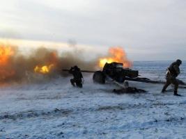 За прошедшие сутки по украинским позициям боевики 45 раз открывали огонь