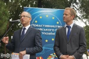В Николаев с информационной кампанией приехал посол ЕС