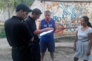 В Одессе пьяные супруги-дебоширы пытались избить полицейских