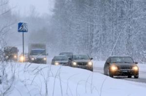 Движение на нескольких трассах Николаевщины затруднено из-за бездействия коммунальщиков - ГАИ