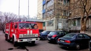 В здании Одесского облсовета произошел пожар. Жертв нет, сотрудники эвакуированы