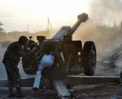 В течение дня боевики совершили 33 огневых налета на позиции АТО - погиб один военный, пятеро получили ранения