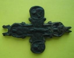 На острове Березань в Николаевской области нашли створку нагрудного креста-энколпиона