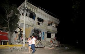 В Эквадоре произошло мощное землетрясение: множество погибших и раненых