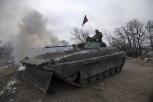 Боевики рассказали, когда отведут танки от линии соприкосновения