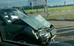На трассе Херсон-Николаев произошло серьезное ДТП с пострадавшим