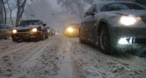 Где в Херсонской области ограничено движение транспорта из-за непогоды