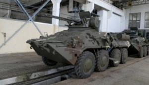 Украинские БТР получат турецкие и польские комплектующие