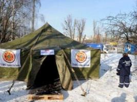 В Одесской области работает 60 пунктов обогрева