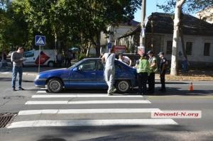 В Николаеве на пешеходных переходах произошло два ДТП. Пострадали мужчина и женщина с малолетним ребенком