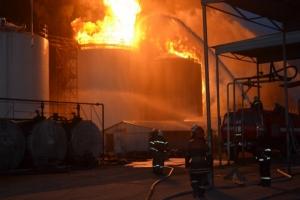 Пожар на нефтебазе под Киевом: хронология событий. ОБНОВЛЯЕТСЯ
