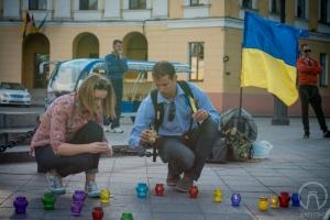 В Одессе прошла акция памяти и солидарности с притесняемыми народами Крыма