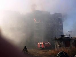 Боевики обстреляли девятиэтажку в Донецке, обвинив ВСУ – штаб АТО