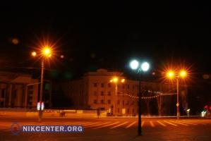 В Херсоне реконструируют уличное освещение