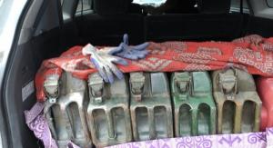 В Херсонской области продавали контрабандное горючее из Крыма