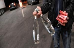 В Херсонской области поймали водочно-сигаретных контрабандистов