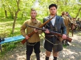 В Херсонской области в День Победы воссоздали события Второй мировой. ФОТО